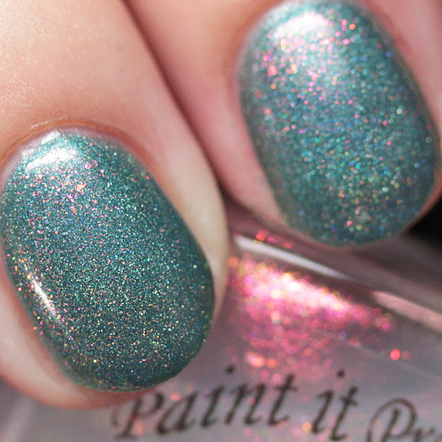Paint It Pretty Polish Baby It's Cold Outside over Christmas Cheer