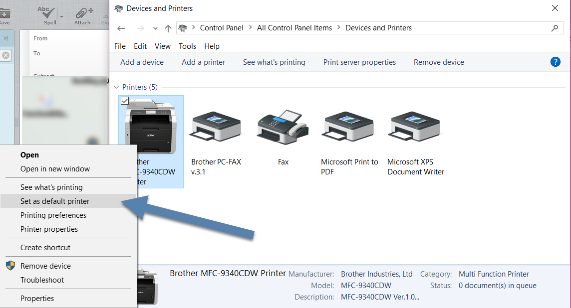 Eyonic Systems: Missing Default Printer? Stop Windows from Managing your  Printers