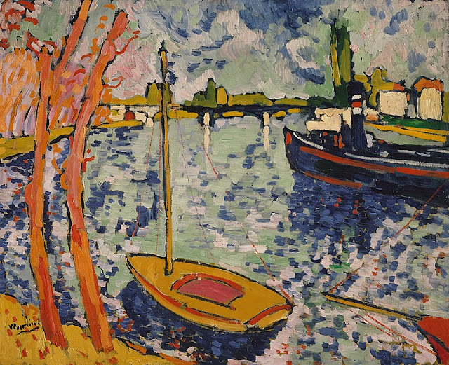 Maurice de Vlaminck The River Seine at Chatou, 1906