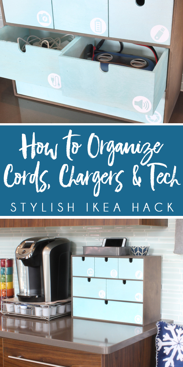 DIY Charger Cord Organizer