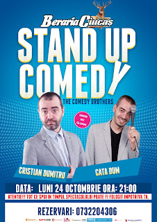Stand-Up Comedy Luni 24 Octombrie Brasov