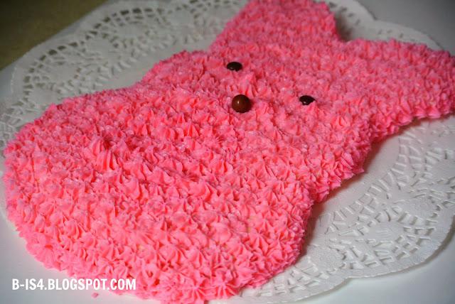 Pink Bunny Cake, Dessert, Recipe