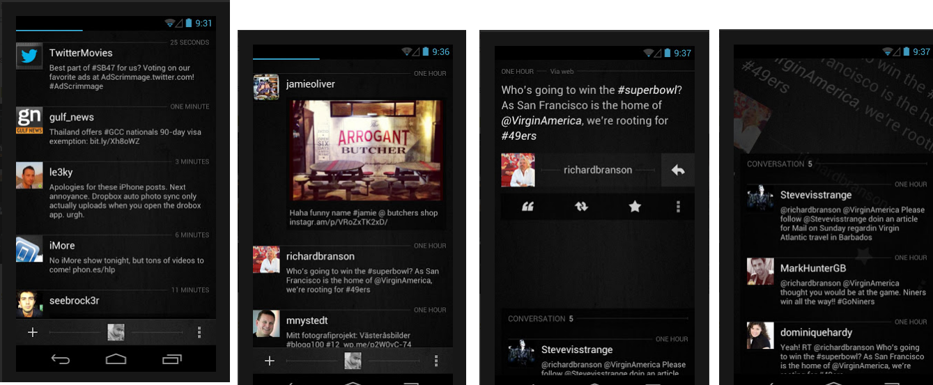 Twitter apk for android free: Carbon Twitter | Best Twitter
