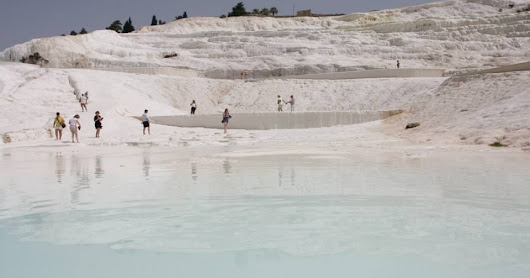 土耳其 Turkey:Pamukkale Travertines Terraces 棉花堡