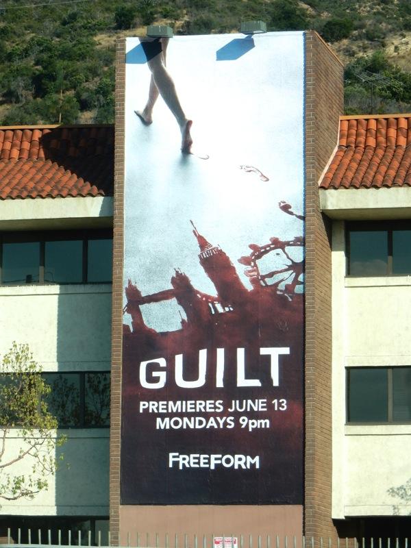 Guilt series premiere billboard