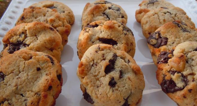 Choco Cheese Keto Cookies untuk Lebaran