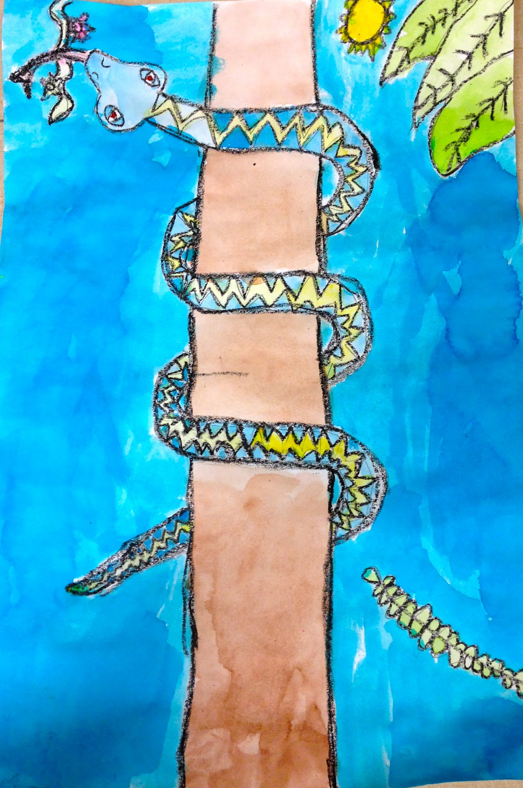 Expression Of Imagination Second Grade Snakes