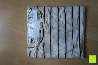 Verpackung: Yidarton Damen Crew Neck Base Gestreiftes Kurz Spaltung Casual T-Shirt Top Bluse