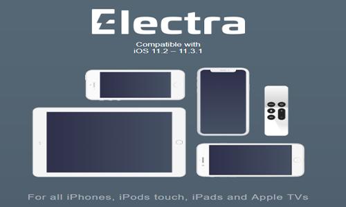 جلبريك الكترا لاجهزة آبل Electra jailbreak for IOS+TVOS,جلبريك Electra,iOS 11.3,جيليبريك,جلبريك, ابل,ايفون,ايباد,iPhone,iPad,jailbreak,Electra