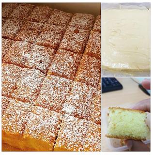 Resepi Butter Cake Sukatan Cawan