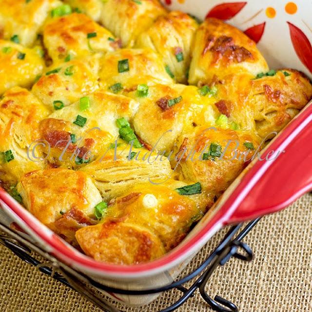 The Midnight Baker: Bacon Cheese Pull-Aparts (BONUS POST