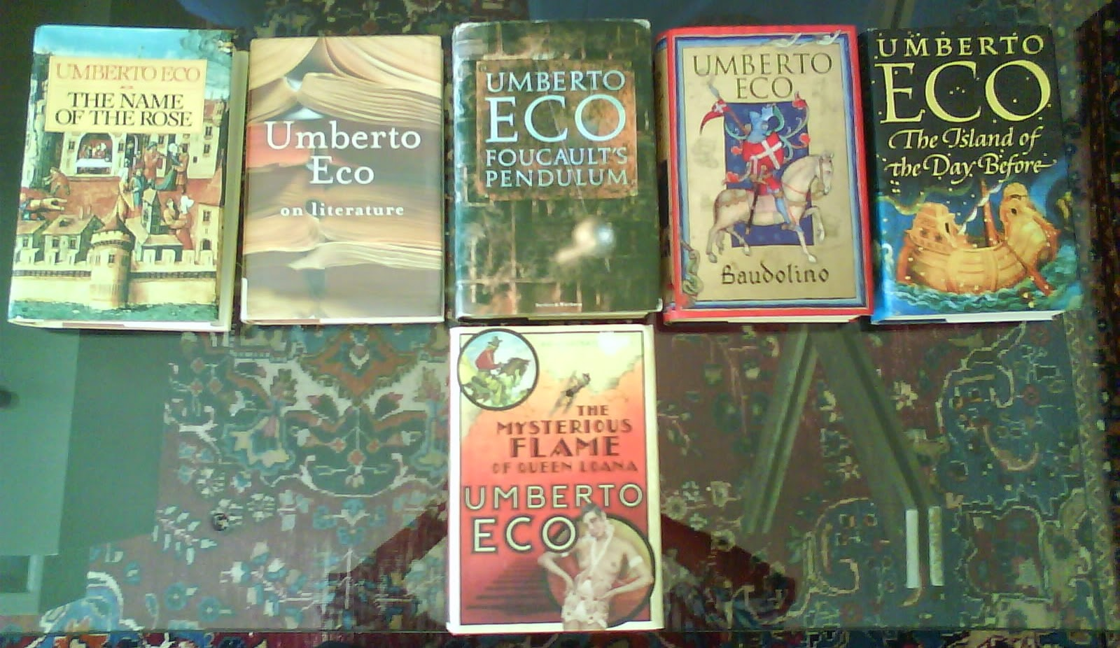 Books by Umberto Ecco