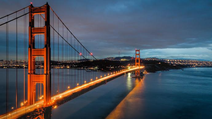 Wallpaper: Chrysopylae (Golden Gate) Bridge