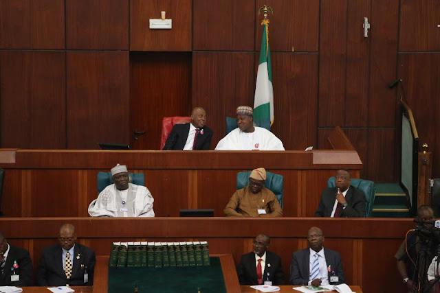 Today, President Muhammadu Buhari presented the 2017 Draft Appropriation Bill to a joint session of the National Assembly.