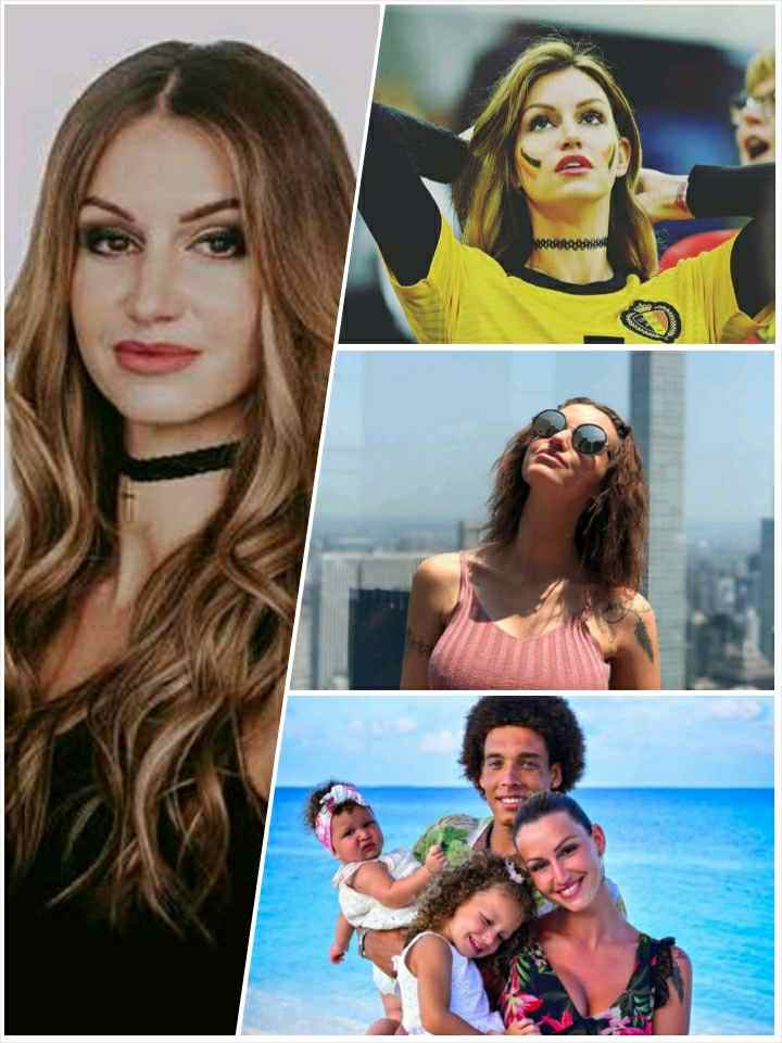 Rafaella Szabo and Axel Witsel