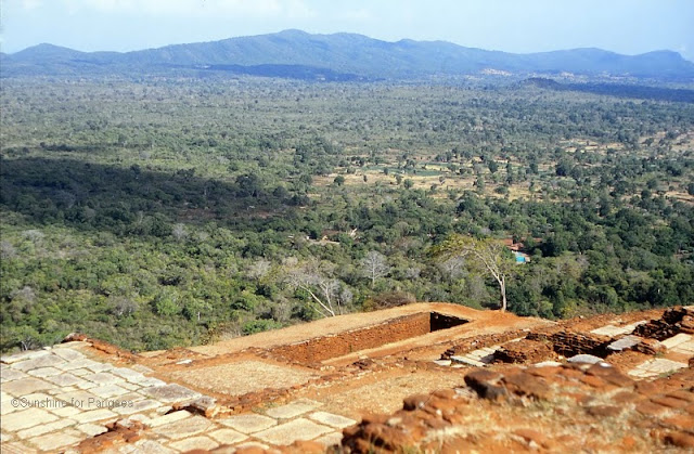 On top of the Sigiriya Rock