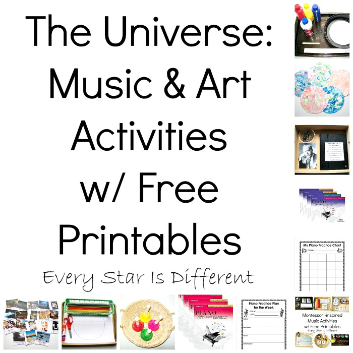 The Universe: Music & Art Activities