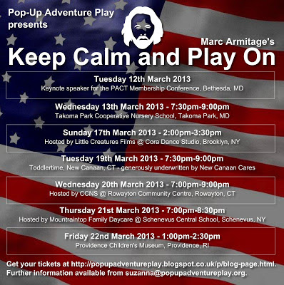 Marc Armitage's Keep Calm and Play On