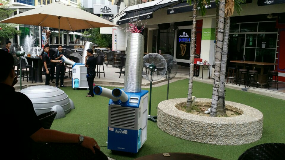 Weltem Portable Air Conditioner Spot Cooler In The Events
