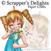 Guest Designer for Scrapper's Delights: April - May 2017