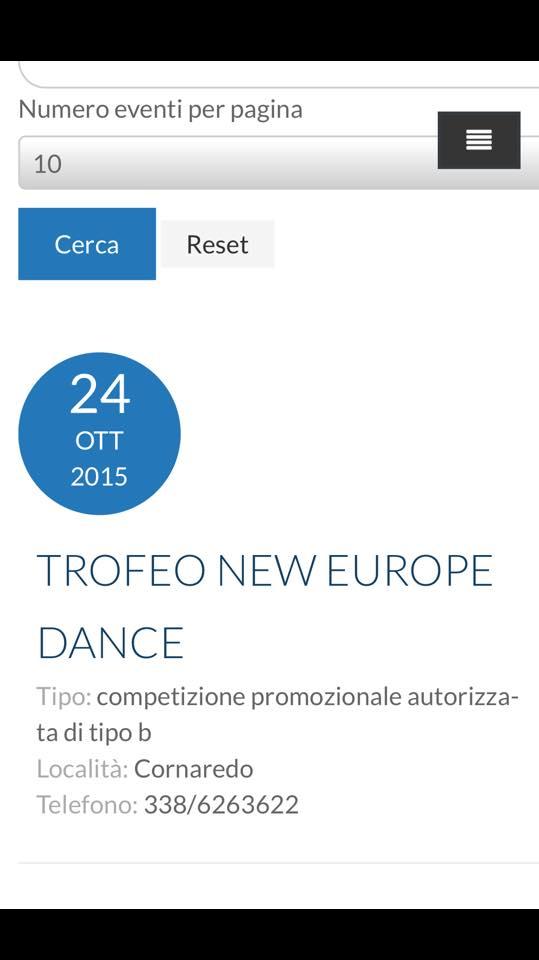 Fids Calendario.Spot Danza Sportiva Calendario Gare Allo Sballo