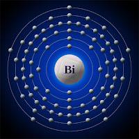 Bizmut atomu elektron modeli