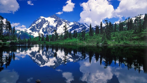 Water and Mountain Landscapes