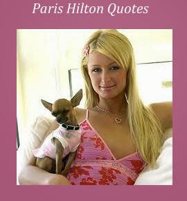 Famous Paris Hilton