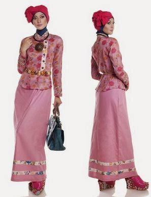 Contoh model baju muslim untuk pesta cocok untuk wanita muda