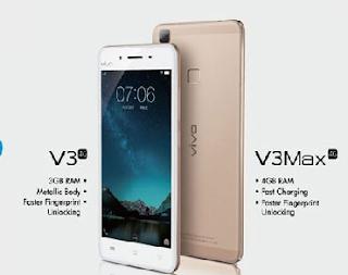 vivo V3 dan V3Max