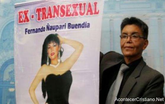 Fernando Ñaupari, ex transexual convertido a Cristo