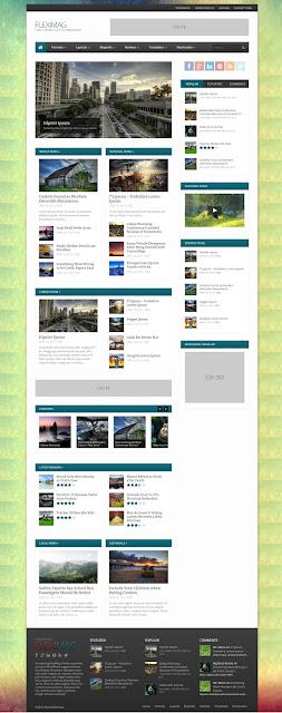 FlexiMag Premium Magazine wordpress theme