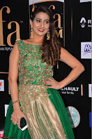 Manjusha in Beautiful Sleeveless Green Anarkali dress at IIFA Utsavam Awards 22.JPG