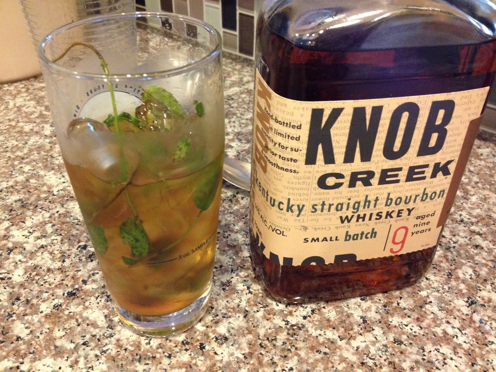 a refreshing mint julep