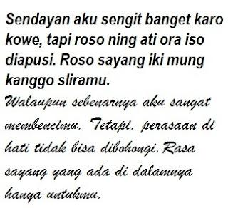 Kata Cinta Bahasa Jawa Dan Artinya Cikimm Com