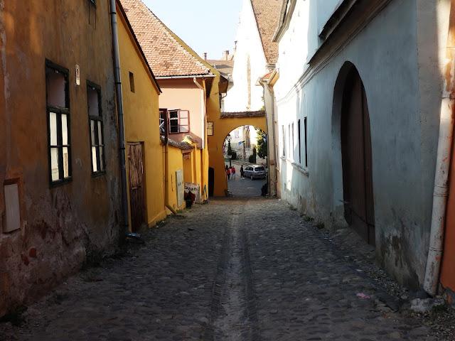 Sighisoara, miejsce urodzenia Draculi