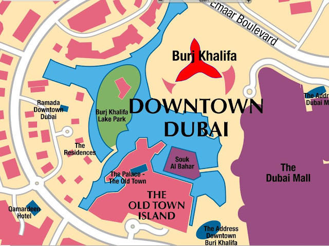 Map of Hotels Burj Khalifa Dubai the United Arab Emirates,BURJ KHALIFA LOCATION MAP,Burj Khalifa in Google Maps,Map of hotels near Burj Khalifa Map of the Burj Dubai,Burj Khalifa Dubai Map,burj khalifa google maps
