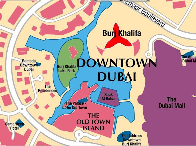 Map of Hotels Burj Khalifa Dubai the United Arab Emirates,BURJ KHALIFA LOCATION MAP,Burj Khalifa in Google Maps,Map of hotels near Burj Khalifa Map of the Burj Dubai,Burj Khalifa Dubai Map,burj khalifa google maps