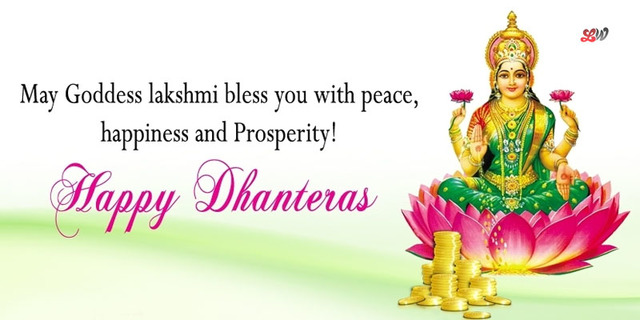 reply of happy dhanteras in hindi