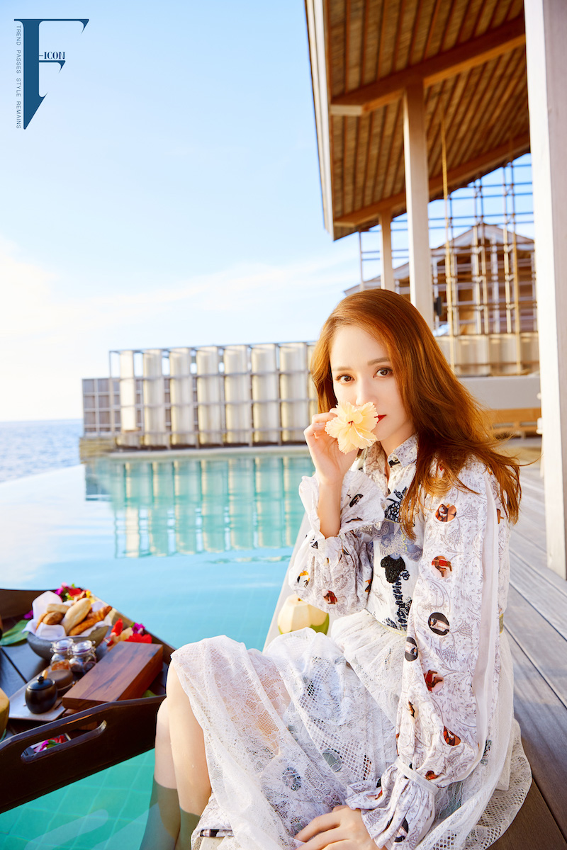 Joe Chen Joe Chen Poses For Photo Shoot In The Maldives Llifestyle And