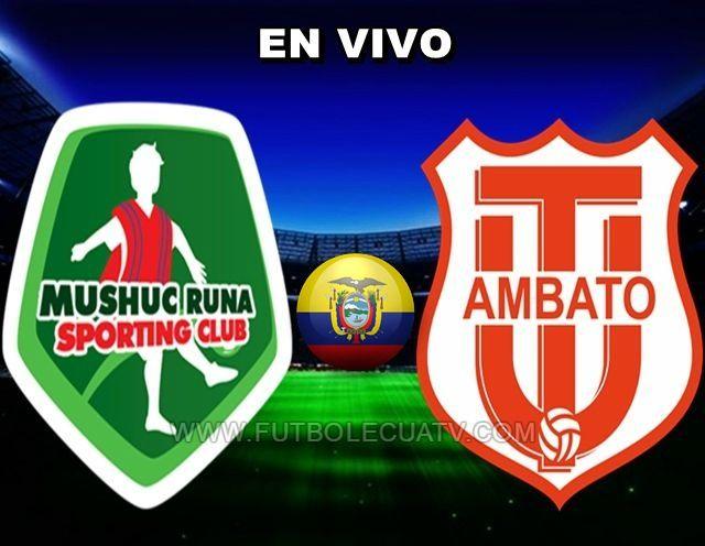 Mushuc Runa y Técnico Universitario se miden en vivo desde las 13:00 horario de nuestro país a realizarse en el campo por designar continuando la fecha trece del campeonato ecuatoriano