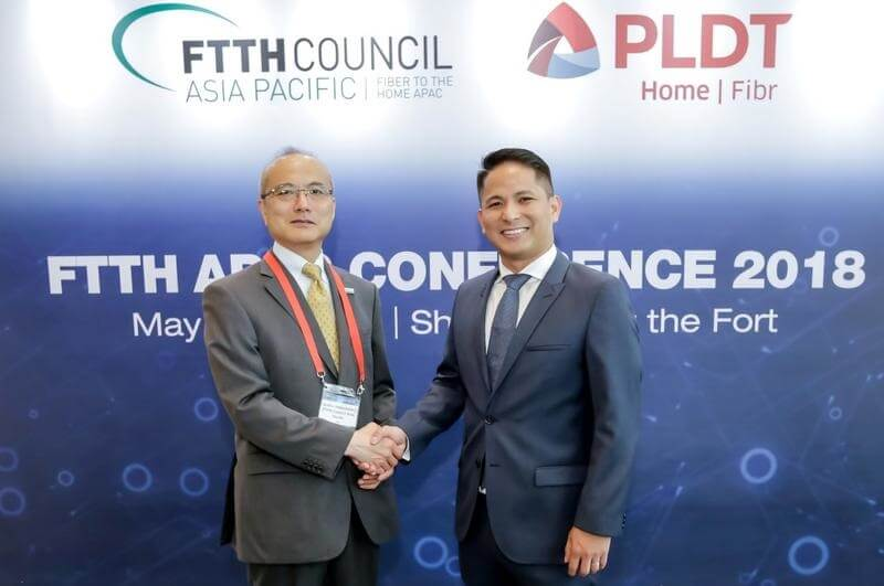 PLDT Boasts Fiber Network Rollout Efforts in FTTH Asia Pacific Conference 2018
