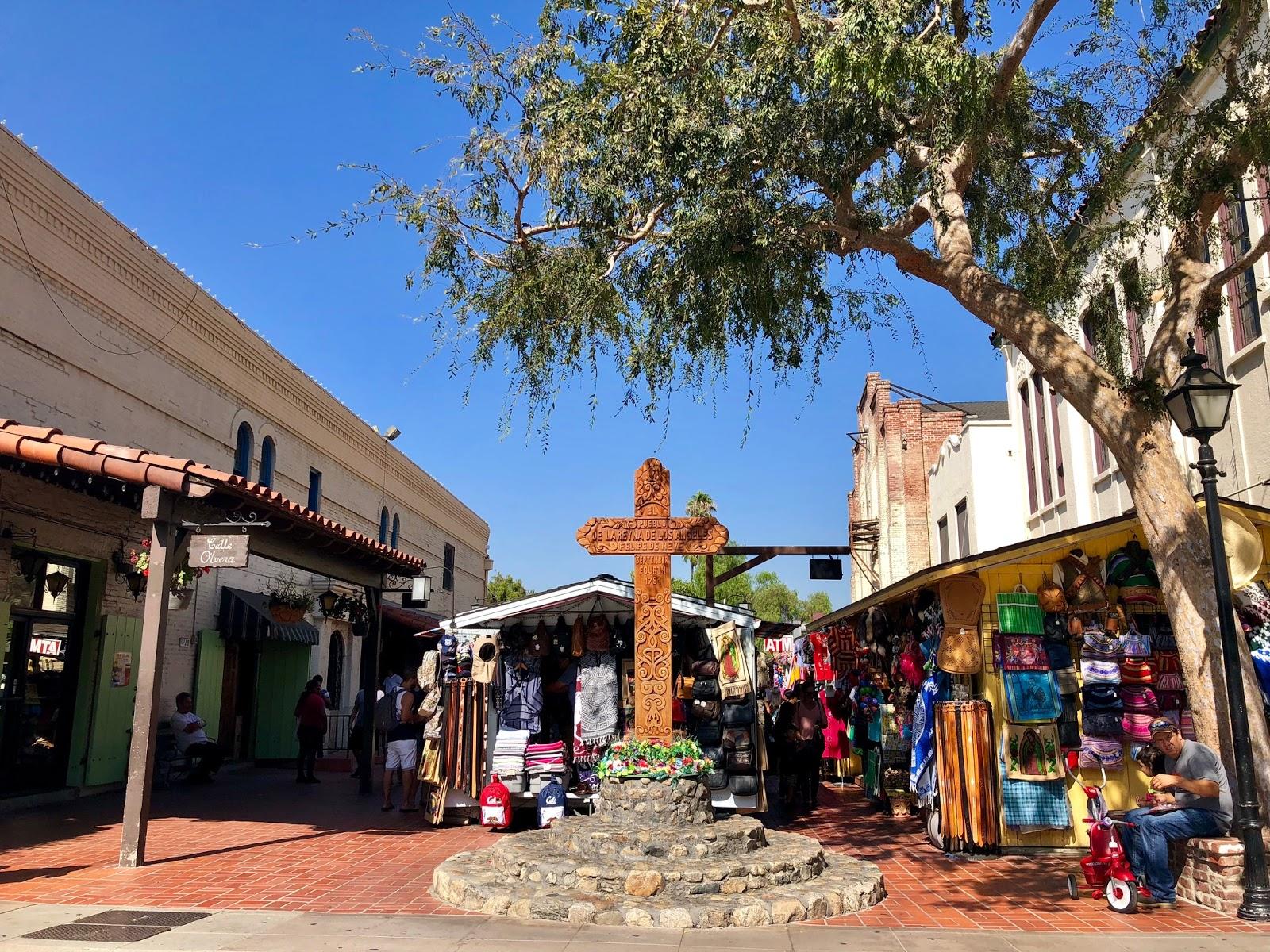 Olvera Street Entrance - Life in Wanderlust