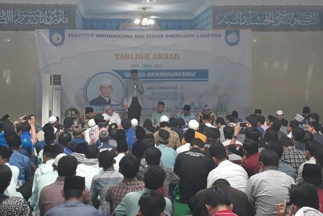 TGB: Saya Sering Lihat Ceramah Ustaz Abdul Somad di Youtube