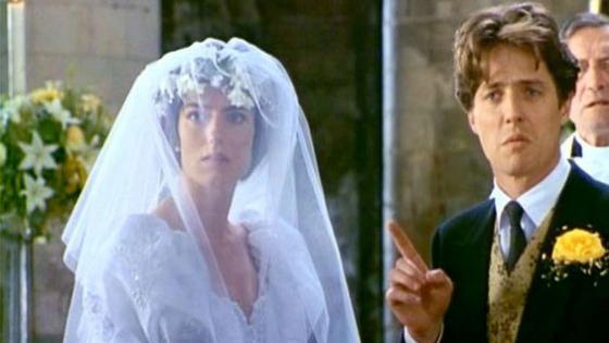 Les films à voir absolument lorsqu'on est une future mariée 4 mariages et un enterrement blog mariage www.unjourmonprinceviendra26.com