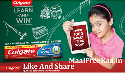 Learn And Win Free Tablets