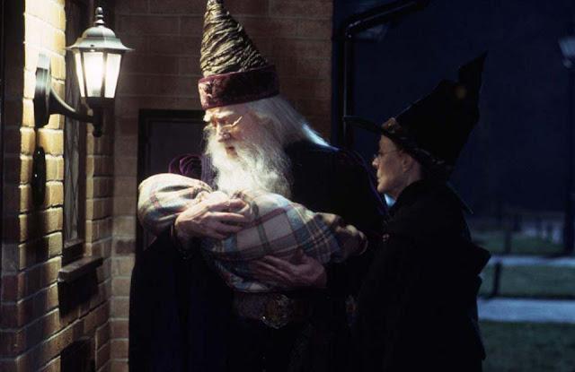 Макгонъгол и Дъмбълдор в Хари Потър и философският камък
