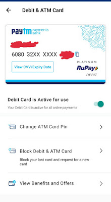 Simple way to How to active your Paytm Debit card?
