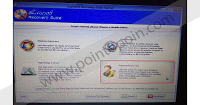 Memilih Password Recovery