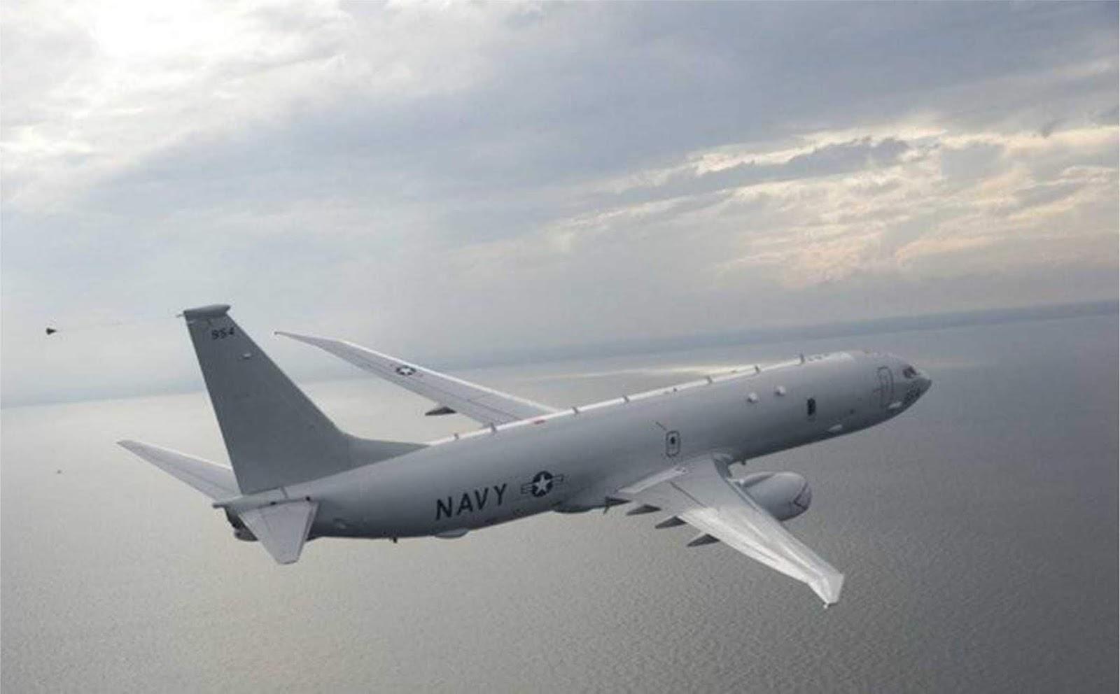 Pesawat Angkatan Udara AS melakukan pengintaian di perbatasan utara Rusia